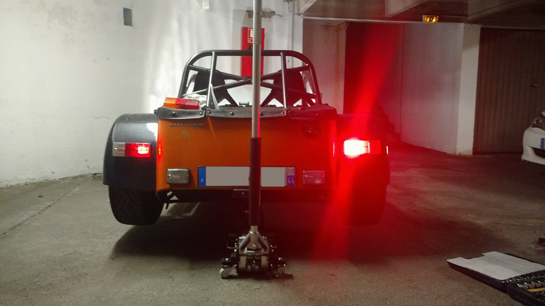 Caterham 7 LED Rear Light Cluster MKII 6