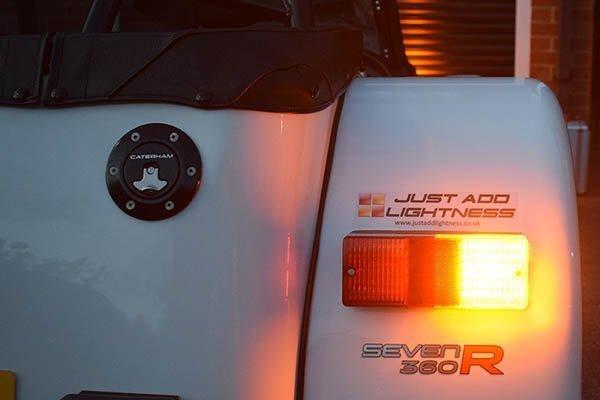 Caterham 7 LED Rear Light Cluster MKII 4